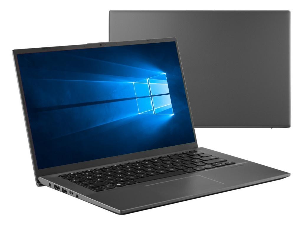 Ноутбук ASUS VivoBook X412FA-EB487T 90NB0L92-M10830 (Intel Core i5-8265U 1.6GHz/8192Mb/256Gb SSD/No ODD/Intel HD Graphics/Wi-Fi/Bluetooth/Cam/14/1920x1080/Windows 10 64-bit)