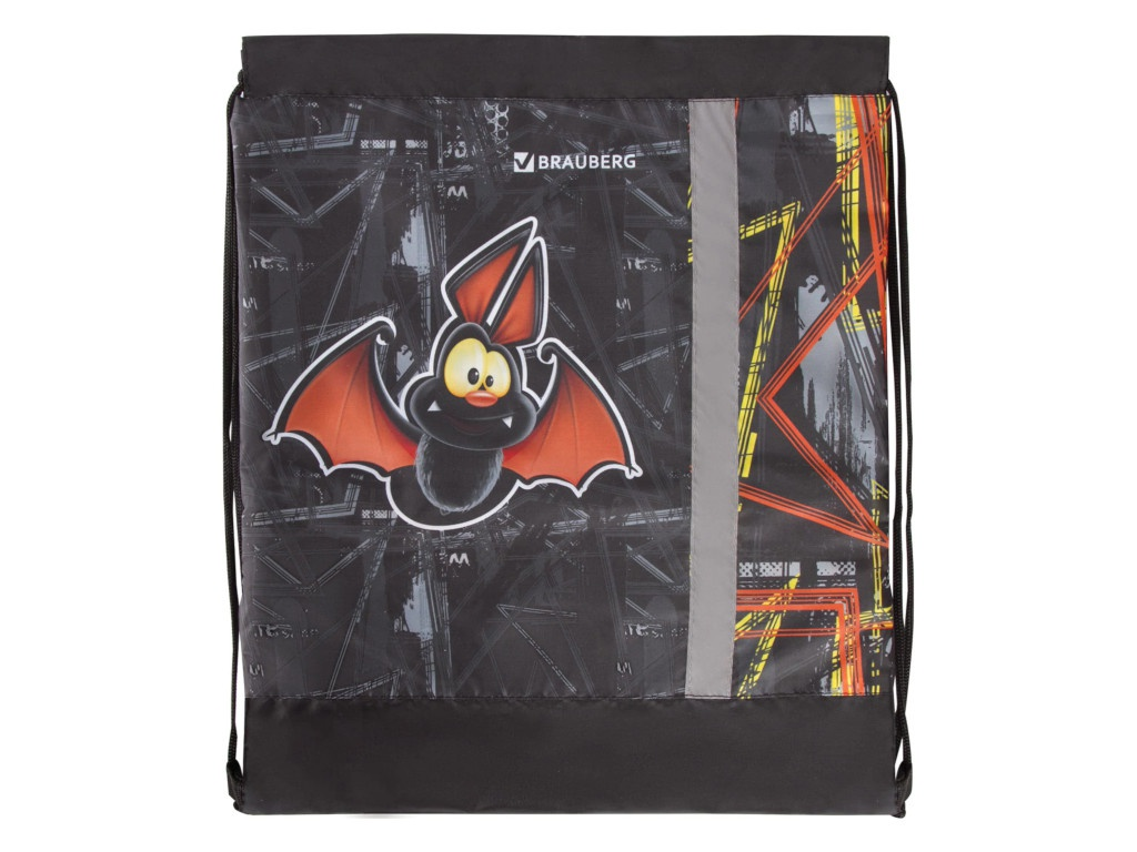 Мешок для обуви Brauberg Летучая мышь 460x360mm 228126