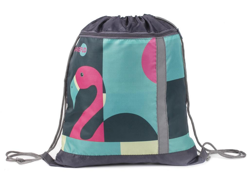 Мешок для обуви Пчелка СДС-711 Фламинго 460x360mm