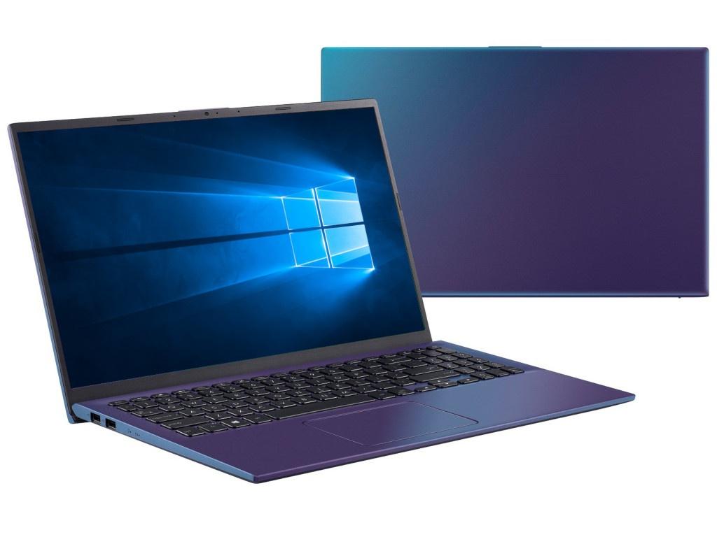 Ноутбук ASUS X512FL-BQ614T Blue 90NB0M96-M08060 (Intel Core i5-10210U 1.6 GHz/8192Mb/256Gb SSD/nVidia GeForce MX250 2048Mb/Wi-Fi/Bluetooth/Cam/15.6/1920x1080/Windows 10 Home 64-bit)