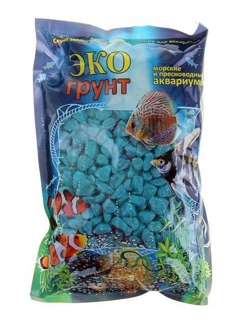 Цветная мраморная крошка Эко грунт 5-10mm 7kg Sea Wave 7-1038