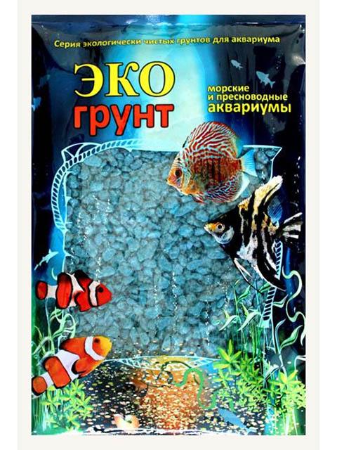 Цветная мраморная крошка Эко грунт 2-5mm 7kg Sea Wave 7-1049