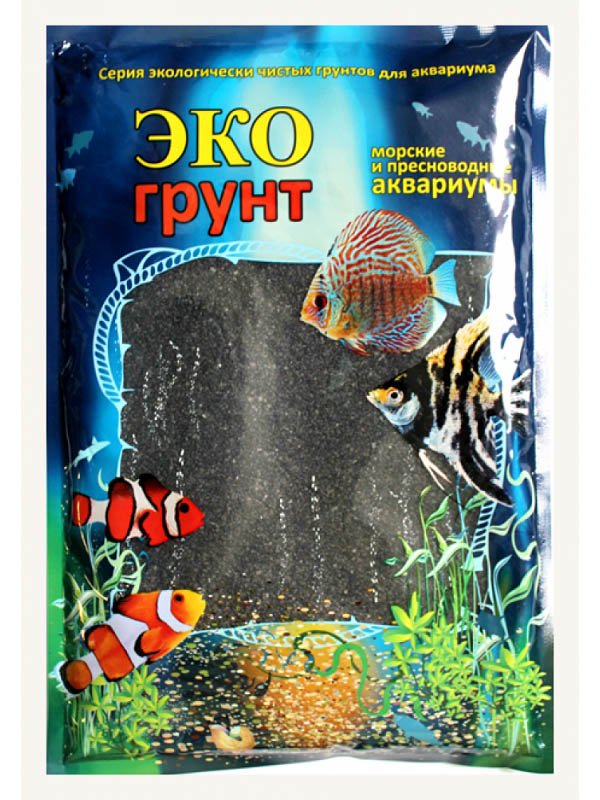 Грунт Эко грунт 1-3mm 7kg Black Crystal 7-1056