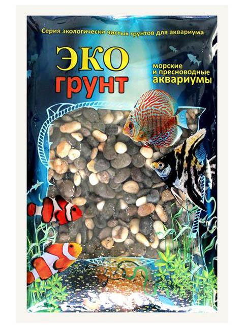 Галька Эко грунт Феодосия №3 15-20mm 7kg 7-1005