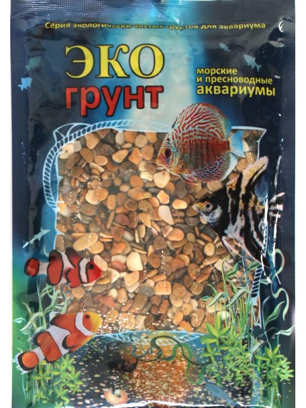 Галька Эко грунт Каспий №2 5-10mm 7kg 7-1009