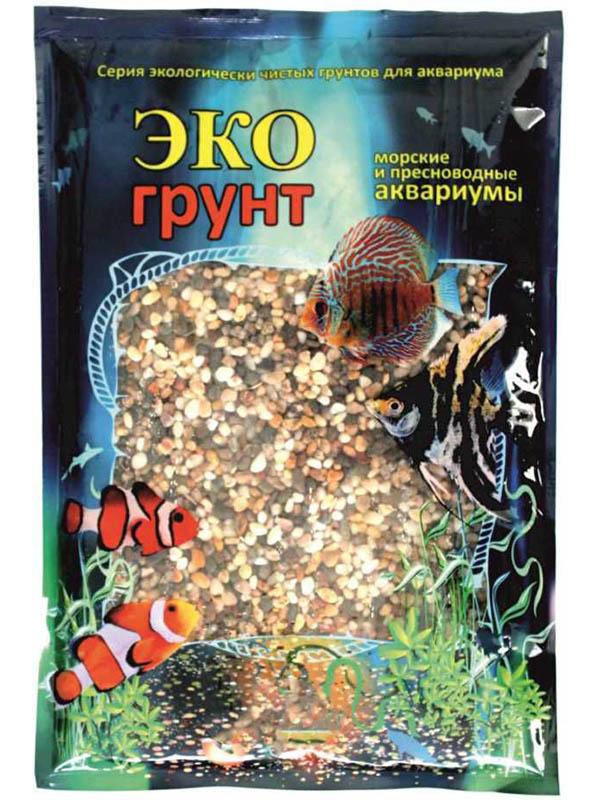 Галька Эко грунт Феодосия №0 2-5mm 1kg 450010