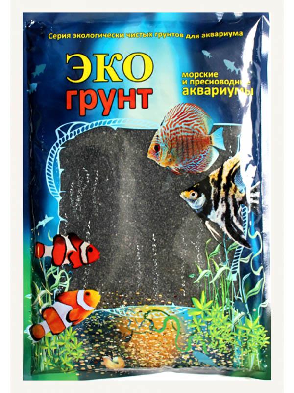 Грунт Эко грунт 3-5mm 1kg Black Crystal 500049