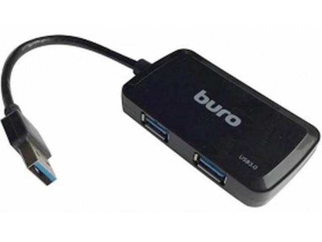 Хаб Buro USB3.0 4xUSB BU-HUB4-U3.0-S