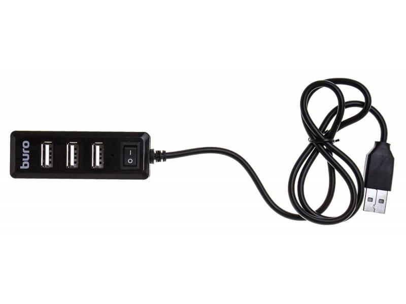 Хаб Buro USB2.0 4xUSB BU-HUB4-0.5L-U2.0