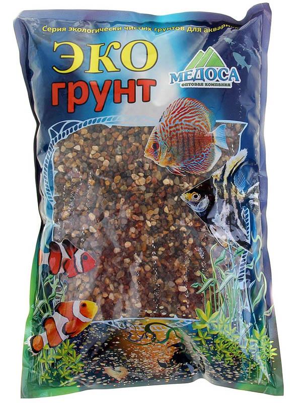 Гравий-речной Эко грунт 4-8mm 3.5kg г-0083