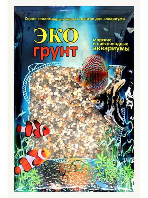 Галька реликтовая Эко грунт №1 2-5mm 3.5kg г-0328