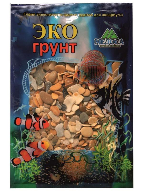 Галька Эко грунт Каспий №3 8-15mm 3.5kg г-0342