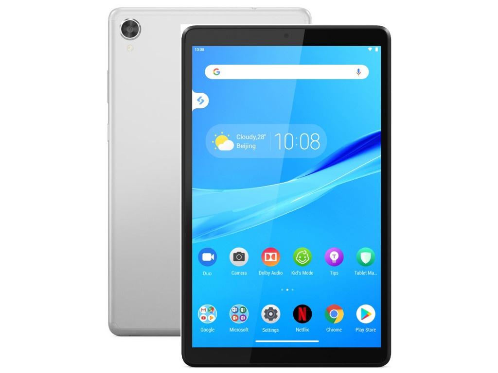 Планшет Lenovo Tab M8 TB-8505F Silver ZA5G0121RU (Mediatek Helio A22 2.0GHz/2048Mb/32Gb/GPS/Wi-Fi/Bluetooth/Cam/8/1280x800/Android)