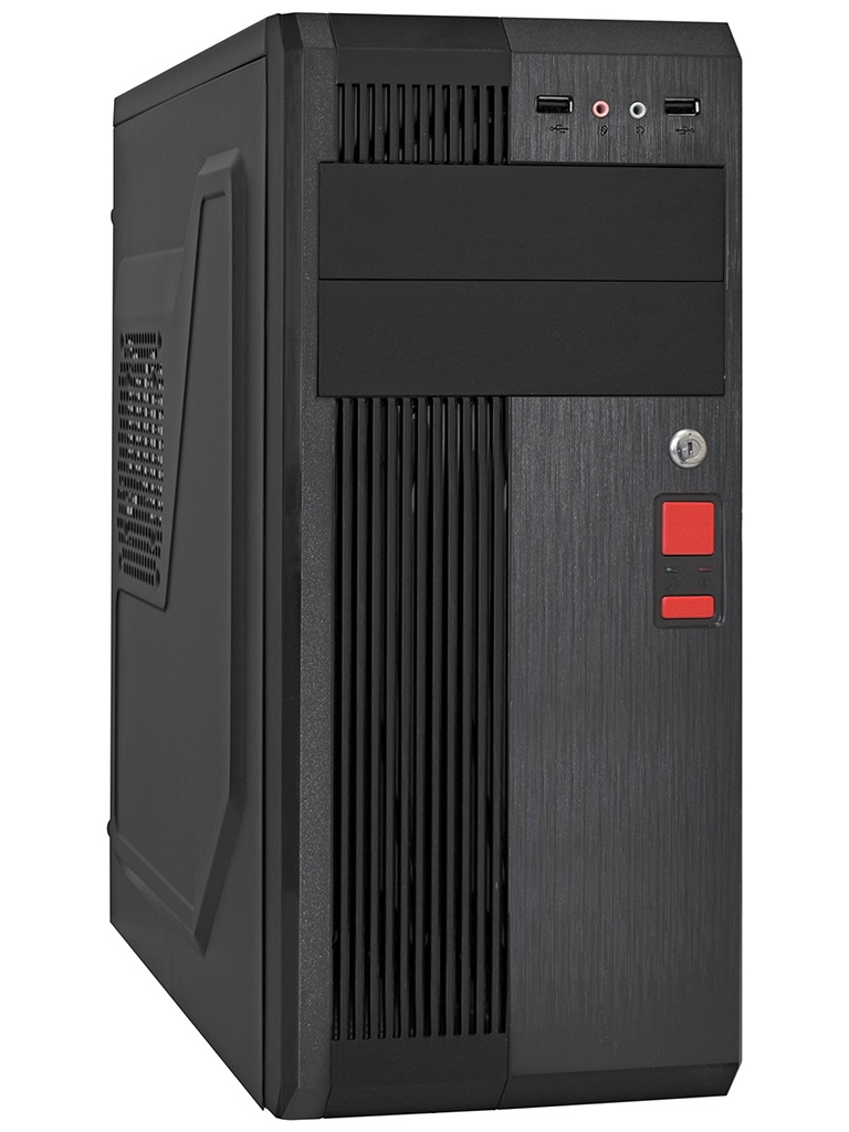 Корпус ExeGate UN-605B ATX 450W Black EX283224RUS