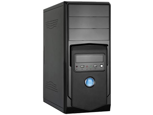 Корпус ExeGate CP-605U ATX 450W Black EX283249RUS