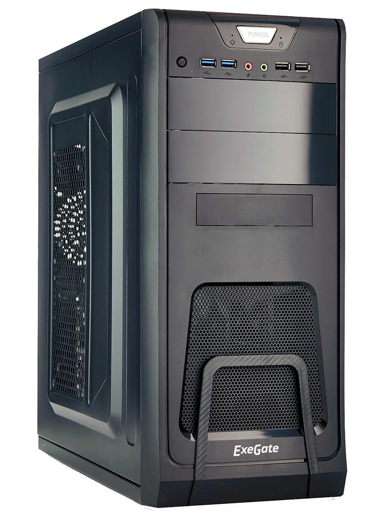 Корпус ExeGate CP-603UB ATX Без БП Black EX283214RUS
