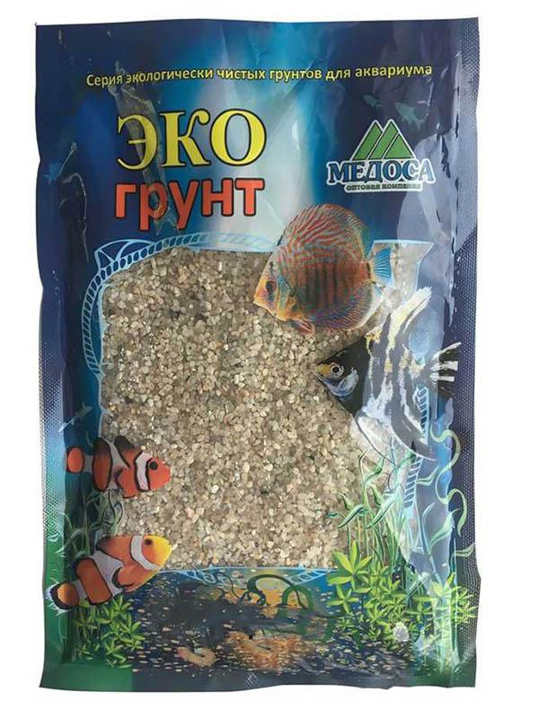 Натуральный кварцевый грунт Эко Куба-2 1.0-2.5mm 1kg 500047