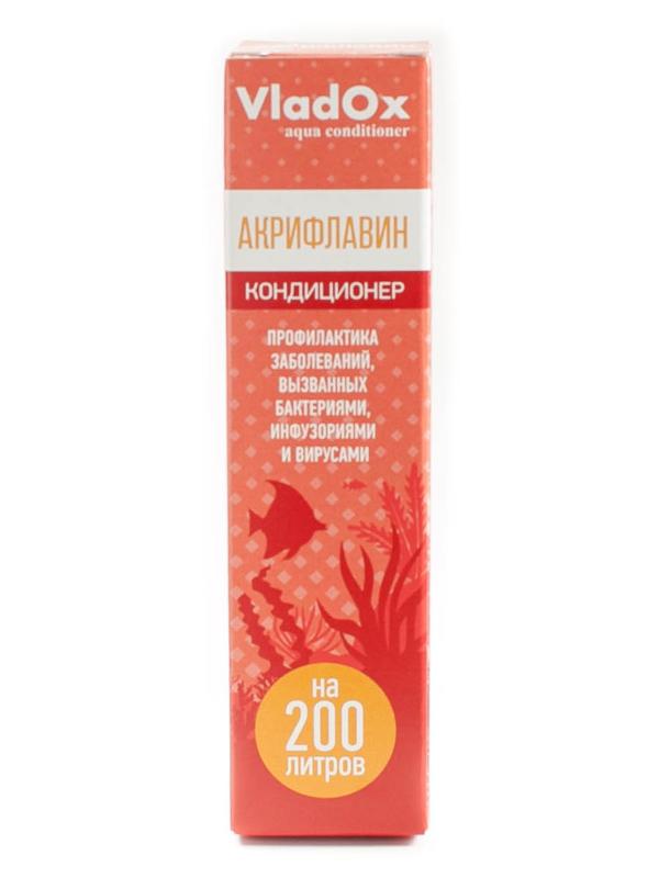 Средство Vladox Акрифлавин 82603 - Кондиционер для профилактики и устранения бактериальных инфекций 50ml на 200L