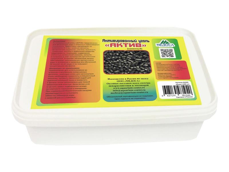 Средство Vladox Актив 81460 - Активированный уголь каменный 1000ml