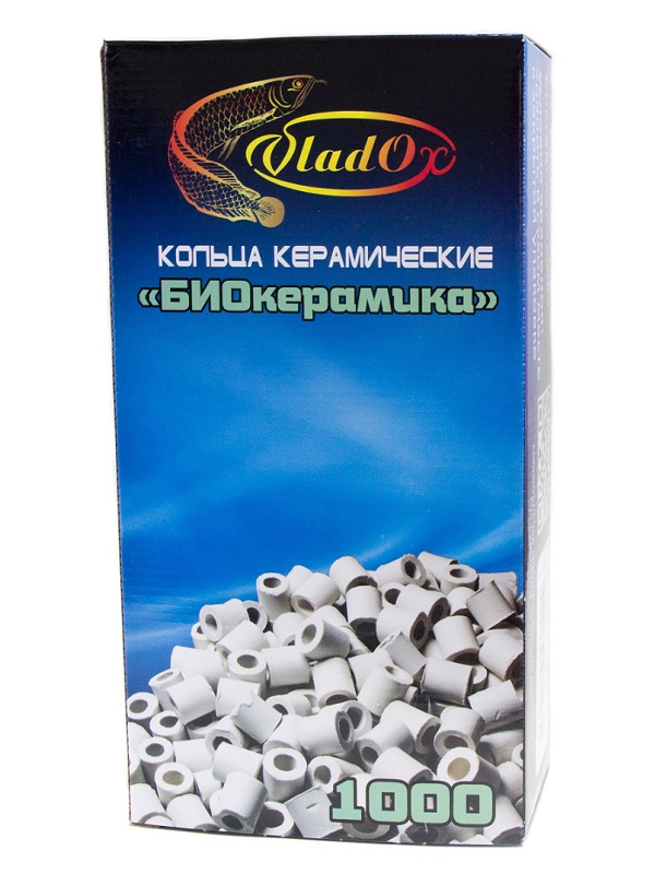 Средство Vladox БиоКерамика 82931 - Керамические кольца для биологической фильтрации 1000g
