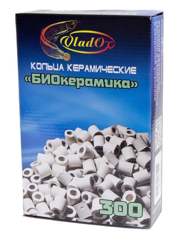 Средство Vladox БиоКерамика 82955 - Керамические кольца для биологической фильтрации 300g