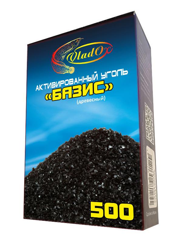 Средство Vladox Базис 81255 - Активированный уголь древесный 500ml