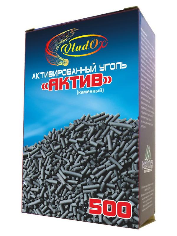 Средство Vladox Актив 81286 - Активированный уголь каменный 500ml