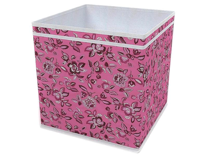 Фото - Коробка-куб Cofret Зефирка 32x32x32cm 10038 органайзер для мелочей cofret русский шик метелица 830 черный