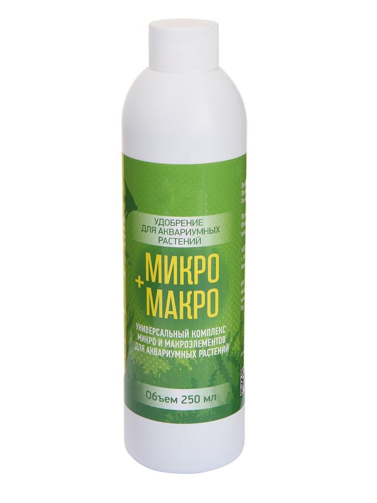 Средство Vladox Микро + макро 83556 - Универсальный питательный комплекс для аквариумных растений 250ml