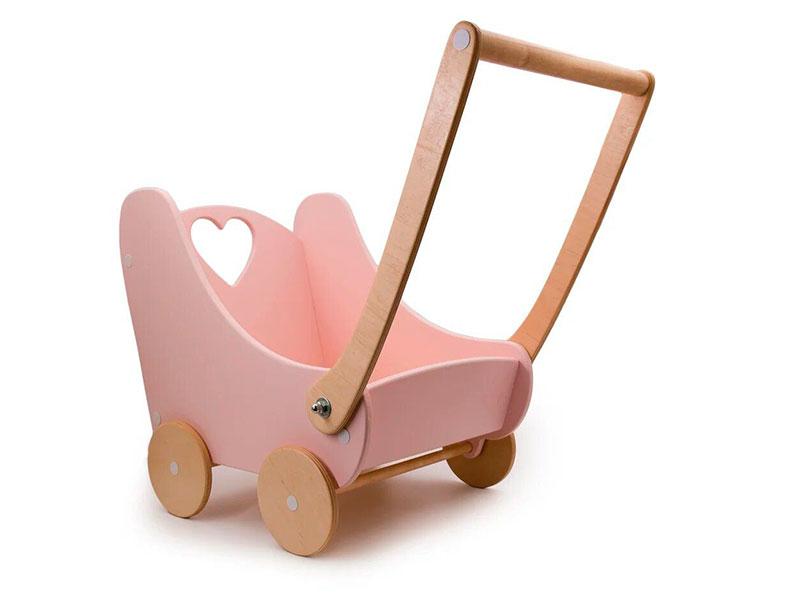 Коляска Коляска-ходунки для кукол Rodent-Kids Lola Pink 1207