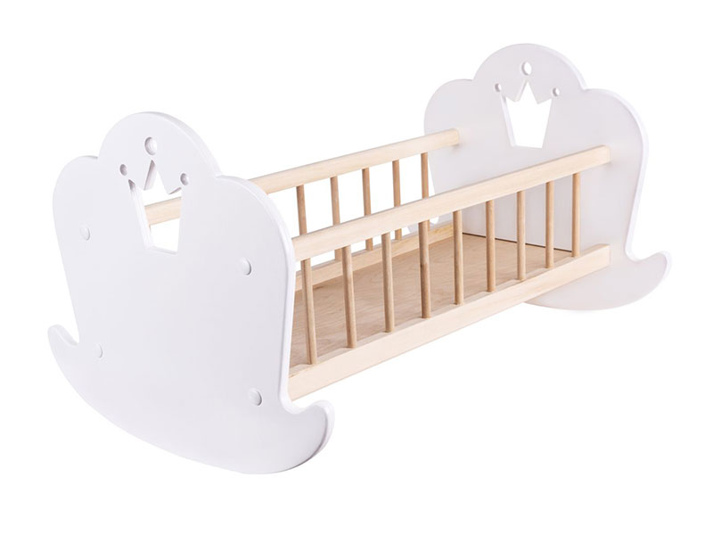 Кроватка для кукол Rodent-Kids Princess White 1003