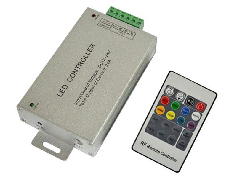 Контроллер URM RGB RF20 12/24V 24A 288/576W IP20 C10426