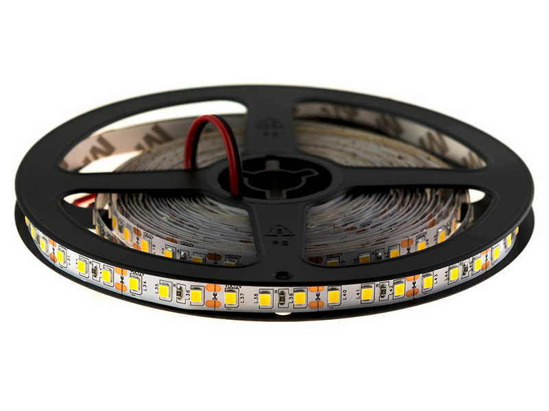 Светодиодная лента URM SMD 2835 120 LED 12V 9.6W 8-10lm IP22 6500K 5.0m C10074