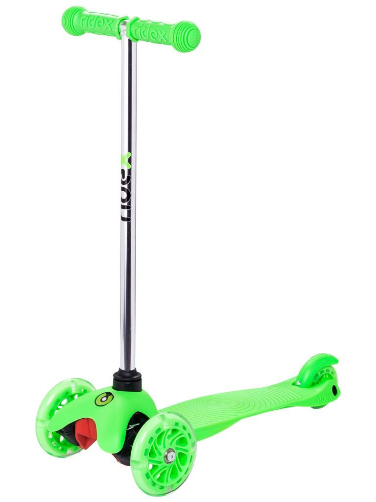 Самокат Ridex 3D Zippy 2.0 120/80 Green
