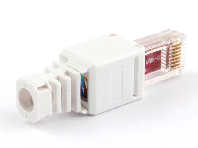 Коннектор Gembird Cablexpert RJ-45 8P8C cat.5e/6 быстрозажимной LK-8P8C