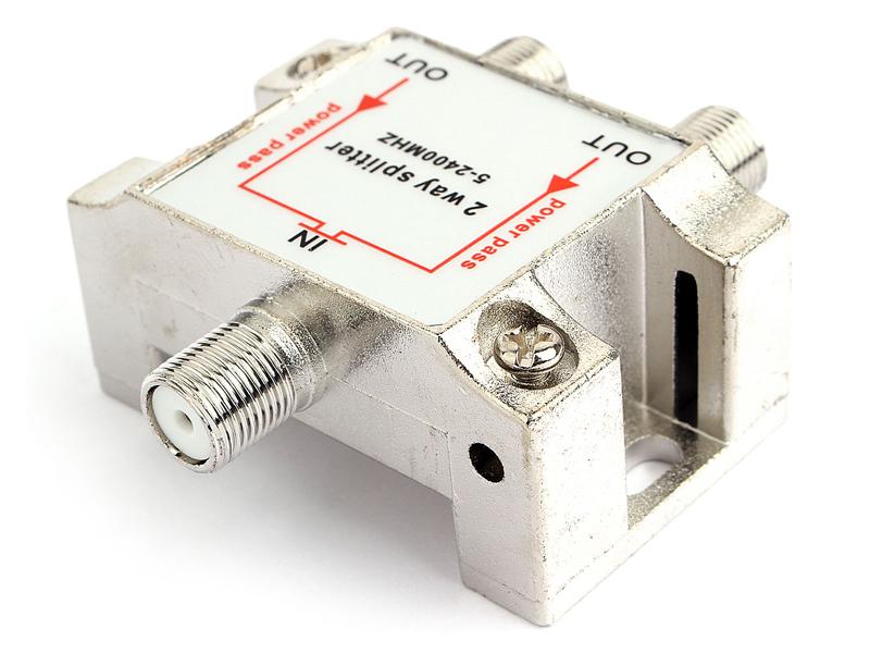 Фото - Сплиттер Gembird Cablexpert Power Pass 5-2400 MHz AS-TV-PP-02 tv power transformer bsc25 n0766
