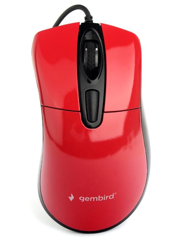 Мышь Gembird MOP-415-R Red