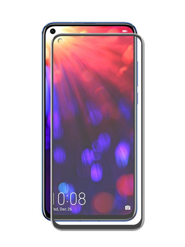 Защитный экран Honor 20/20S/20 Pro/Nova 5T Red Line Full Screen Tempered Glass Glue Black УТ000019380