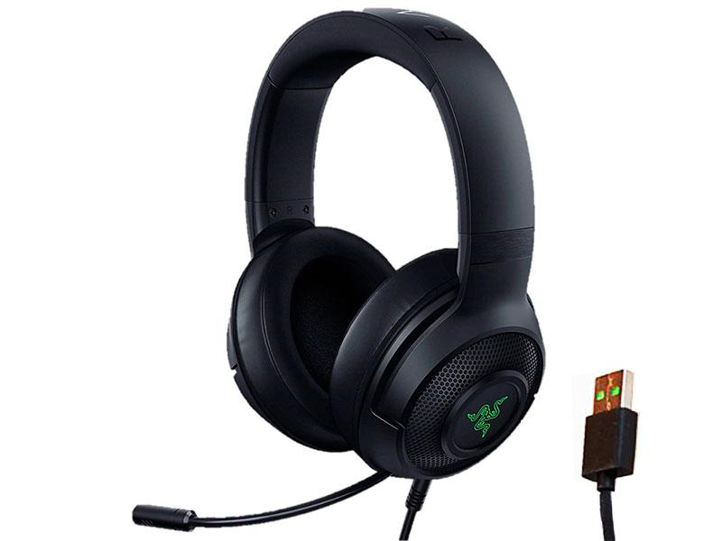 Фото - Наушники Razer Kraken X USB RZ04-02960100-R3M1 аудио усилитель smsl x usb usb iis dsd 384 x usb