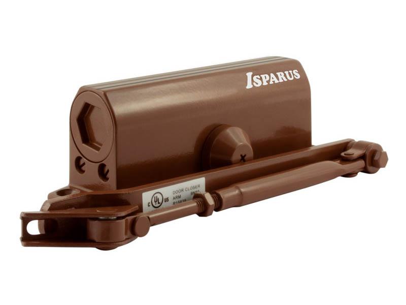 Доводчик дверной Нора-М ISP 430 50 до 110кг морозостойкий Brown 16819