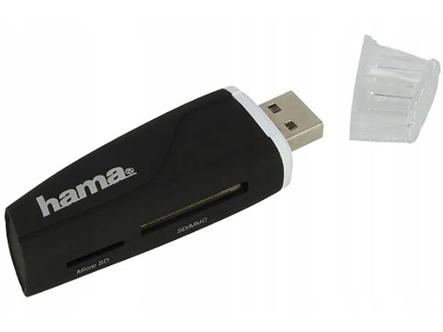 Карт-ридер Hama USB2.0 54115