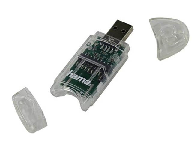 Карт-ридер Hama USB2.0 91092