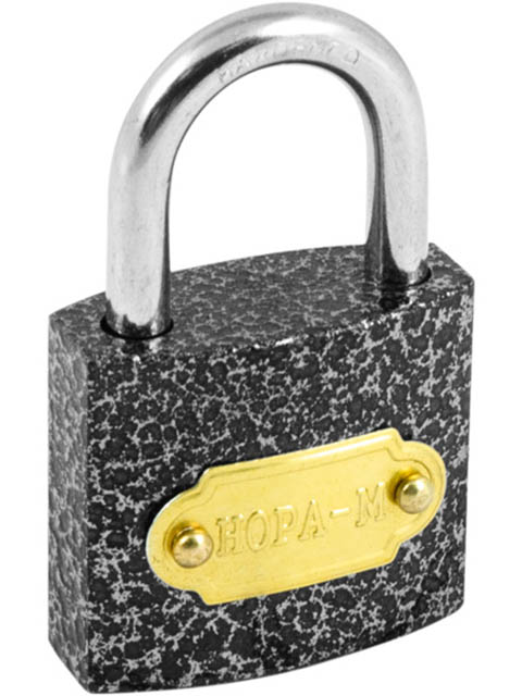 Замок Нора-М ЗН-800-50мм 3 ключа 16810.