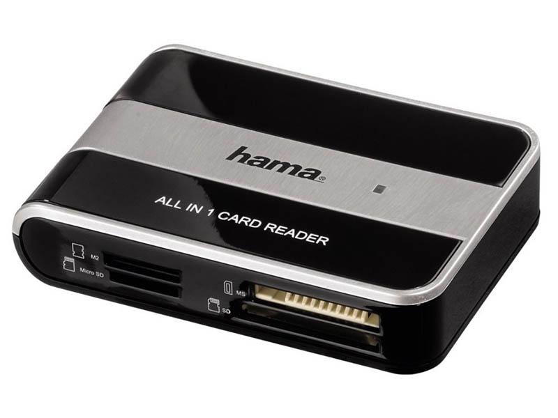 Карт-ридер Hama USB2.0 49016