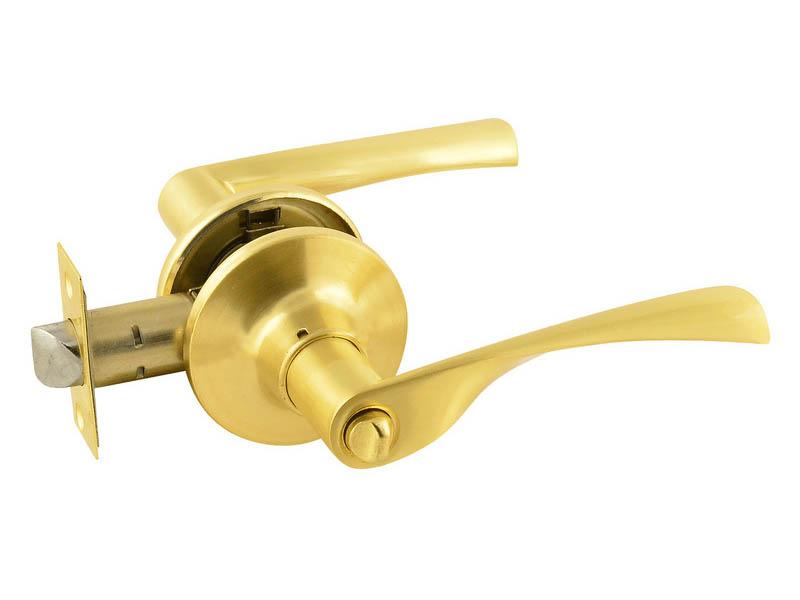 Защелка межкомнатная Нора-М ISP ЗВ2-03 Matte Gold 16775
