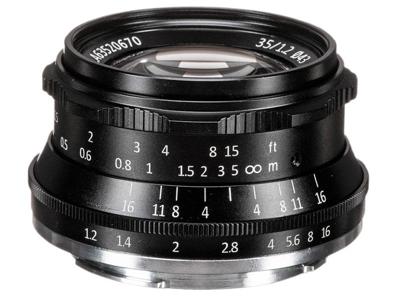 Объектив 7Artisans E-Mount 35 mm f/1.2 Black 17999
