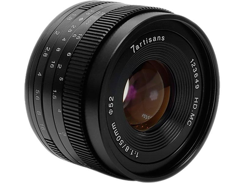 Zakazat.ru: Объектив 7Artisans Micro 4/3 50 mm f/1.8 Black 17998