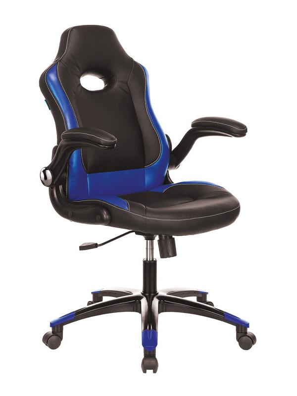 Компьютерное кресло Бюрократ Viking-1N Black-Blue /BL-BLUE