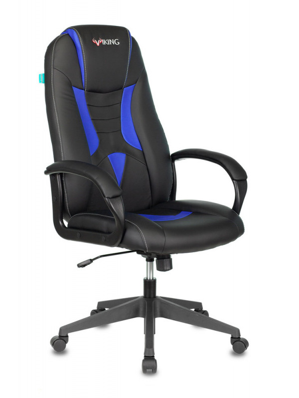 Компьютерное кресло Бюрократ Viking-8N Black-Blue /BL-BLUE