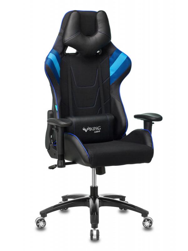 Компьютерное кресло Бюрократ Viking 4 Aero Blue